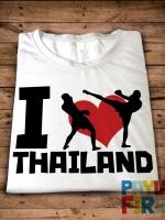 เสื้อยืด I Love Thailand