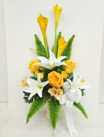 แจกันดอกไม้ประดิษฐ์ รหัส 3085