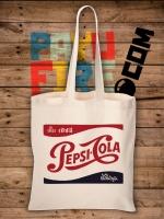 กระเป๋าผ้าดิบ ย้อนยุค Pepsi Cola