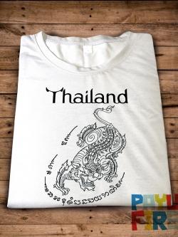 เสื้อยืด ยันต์ไทยโบราณ : สิงห์โห