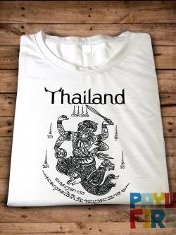 เสื้อยืด ยันต์ไทยโบราณ