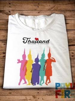 เสื้อยืด Welcome to Thailand
