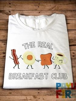 เสื้อยืด The real breakfast club