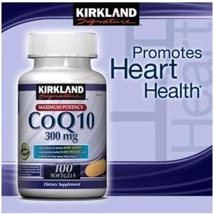 Kirkland Coenzyme Q10 300 mg. ขนาด 100 เม็ด รับประทานวันละ 1 เม็ดค่ะ