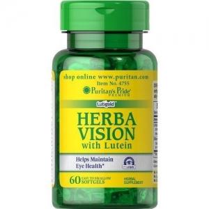 Puritan's Pride Herbavision ขนาด 60 softgels วิตามินบำรุงสายตาจากอเมริกาค่ะ