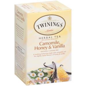 TWINING of London Camomile Honey&Vanilla 20 tea bags หอมทั้งน้ำผึ้งและวนิลามากๆๆๆ อร่อยๆๆๆ