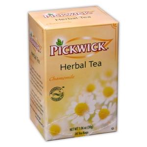 PICKWICK Chamomile Herbal Tea 20 Tea bags ชาคาโมมายล์ ไม่มีคาเฟอีน ดื่มเพื่อการผ่อนคลายค่ะ