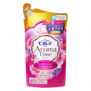 Biore Aroma body wash ถุงเติม 400 ml. สบู่อาบน้ำกลิ่น Elegant spa หอมกลินกุหลาบและกลิ่นดอกไม้นานาพันธุ์ หอมมากๆ พร้อมบำรุงผิวในตัว จากญี่ปุ่นค่ะ