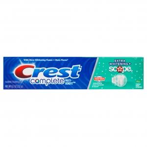 Crest complete extra whitening + scope 8.2 oz.(232 g.) ใช้แล้วฟันขาว สะอาด สดชื่นสะอาดมากๆๆ หลอดใหญ่สุดคุ้มจากอเมริกาค่ะ