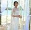 ชุดแต่งงาน แขนยาว หางยาว thumbnail 12