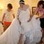 ชุดแต่งงาน แขนยาว ไหล่ปาด thumbnail 9