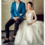 ชุดแต่งงาน ไหล่ปาด แขนยาว thumbnail 1