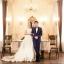 ชุดแต่งงาน ไหล่ปาด หางยาว thumbnail 24