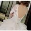 ชุดแต่งงาน แขนยาว หางยาว thumbnail 10