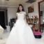ชุดแต่งงาน แขนกุด หางยาว thumbnail 15