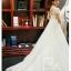 ชุดแต่งงาน แขนสั้น หางยาว thumbnail 2