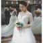 ชุดแต่งงาน แขนยาว หางยาว thumbnail 5