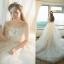 ชุดแต่งงาน ไหล่ปาด แขนสามส่วน thumbnail 1