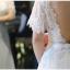 ชุดแต่งงาน แขนสั้น หางยาว thumbnail 11