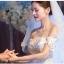 ชุดแต่งงาน ไหล่ปาด thumbnail 10