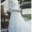 ชุดแต่งงาน แขนยาว หางยาว thumbnail 4