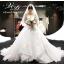 ชุดแต่งงาน ไหล่ปาด หางยาว thumbnail 1
