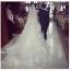 ชุดแต่งงาน แขนกุด หางยาว thumbnail 11
