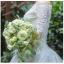 ชุดแต่งงาน ไหล่ปาด แขนสี่ส่วน หางยาว thumbnail 5