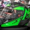 MT Revenge Falcon Gloss Black-Fluor Green