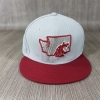 New Era NCAA AC ทีม Washington State Cougars 🎃Fitted ไซส์ 8 63.5 - 64 cm