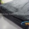 ผ้าห่มขนหนู ไซส์ 60″ x 80″ นิ้ว 40 ปอนด์ สีเทา