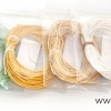 ชุดเชือกคอตตอน 6 สี ชุดประหยัด (3)
