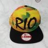 New Era RIO De Janero Brazil ฟรีไซส์ Snapback