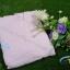 ชุดคลุมอาบน้ำผ้ารังผึ้ง สีชมพูอ่อน Size M thumbnail 1