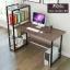CASSA โต๊ะทำงาน โต๊ะเขียนหนังสือ โต๊ะสำนักงาน พร้อมชั้นวางหนังสือ ขนาด122x50cm. thumbnail 3