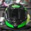 MT Revenge Falcon Gloss Black-Fluor Green thumbnail 12