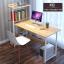CASSA โต๊ะทำงาน โต๊ะเขียนหนังสือ โต๊ะสำนักงาน พร้อมชั้นวางหนังสือ ขนาด122x50cm. thumbnail 2