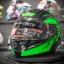 MT Revenge Falcon Gloss Black-Fluor Green thumbnail 4