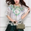 Eden Mint Embroider Blouse thumbnail 1