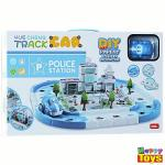 yue cheng track car police station (ฺBlue)
