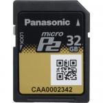 เมมโมรี่การ์ด Panasonic AJ-P2M032AG 32GB microP2 UHS-II Memory Card