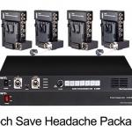 อุปกรณ์สตูดิโอแบบครบชุด SWIT 4-CH EFP Package
