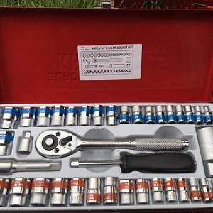 """ชุดบ็อกKing tools. 1/4""""$3/8""""จำนวน40ชิ้น"""