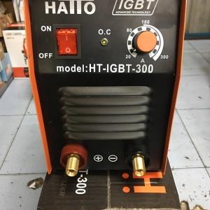 ตู้เชื่อม HATTO 300A. แถมฟรี สายเชื่อม หน้ากาก ด้ามเคาะแปลงลวด