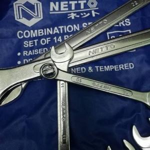 ประแจแหวนข้างปากตายข้าง METTO SET OF 14 PCS.