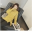 High quality knitted sweater women (สีเหลือง) thumbnail 3