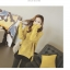 High quality knitted sweater women (สีเหลือง) thumbnail 5
