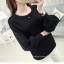 Loose lantarn sweater (สีดำ) thumbnail 1