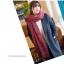 ผ้าพันคอถักไหมพรม (2 tone R/N) thumbnail 2