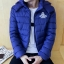 Clear special young men cotton jacket (สีกรม) thumbnail 2